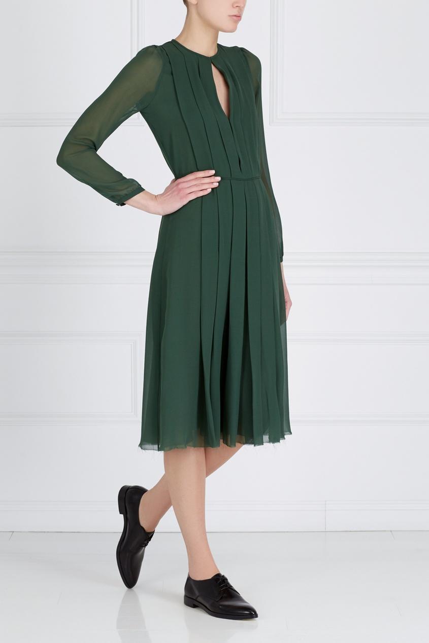 Шелковое платье от AIZEL